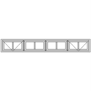 Picture of NG22 Small Pane 2184W X 305H