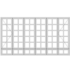 Picture of ND522108/G Small Pane 3254W x 1735H
