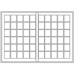 Picture of 3000mm Wide Small Pane Slider LHF