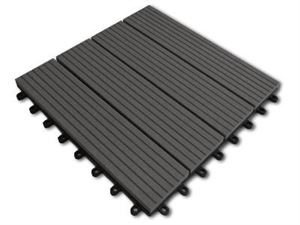 Picture of Grey DIY Decking Tile (Price is for a single 300mm X 300mm Tile)