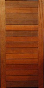 Picture of Horizontal Slatted Door 1200 X 2400