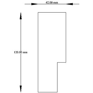 Picture of 1613 X 2032 Door Jamb 42 X 120mm
