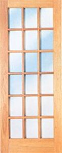 Picture of 18 Light Cottage Pane Door 813 X 2032