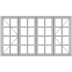 Picture of WD22 Small Pane 2151W X 1183H