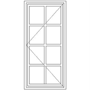 Picture of BD1 Small Pane 579W X 1195H