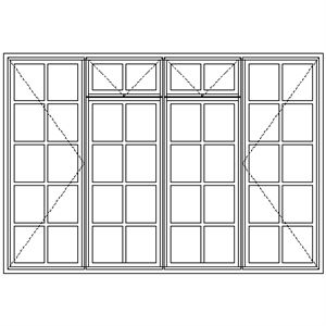 Picture of BD522F Small Pane 2184W X 1465H