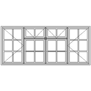 Picture of LNC22F Small Pane 2184W X 925H