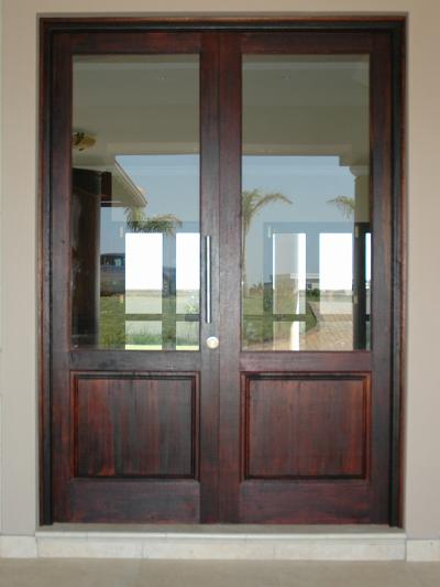Full Pane Top Solid Bottom 1210 X 2032 Exterior Doors