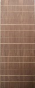 Picture of Sapele Fire Grooved 813 X 2032
