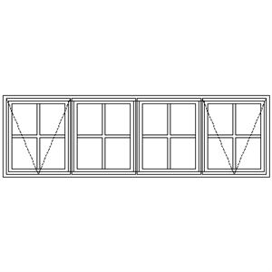 Picture of LNE22 Small Pane 2184W X 655H