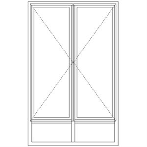 Picture of LND57/NG8 Full Pane 1114W X 1735H