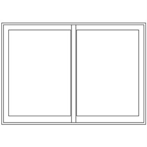 Picture of 3000mm Wide Full Pane Slider LHF