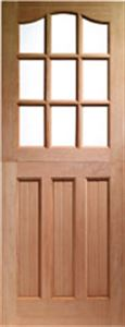 Picture of 9 Light Arched Top Panel Bottom Stable 813 X 2032