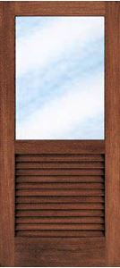 Picture of Full Pane Top Louvre Bottom 813 X 2032