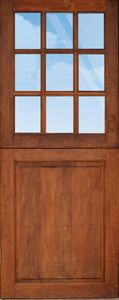Picture of 9 Light Strongwood Top Panel Bottom Stable