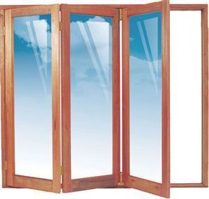 Picture of 1902mm 3 Door Full Pane Folding Unit Special