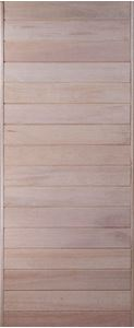 Picture of Horizontal Double Slatted Hardwood 813 X 2032