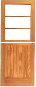 Picture of 3 Pane Top Frame & Ledge Bottom Stable 813 X 2032