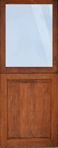 Picture of Full Pane Top Solid Bottom Stable Door(1/2 split) 813 X 2032