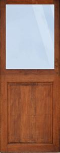 Picture of Full Pane Top Solid Bottom Door(1/2 split) 813 X 2032.