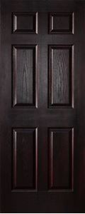 Picture of 6 Panel Stained Deep Moulded 813 X 2032