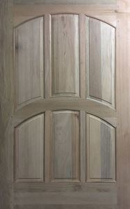 Picture of 6 Panel Curved Pivot Door 1200 X 2032