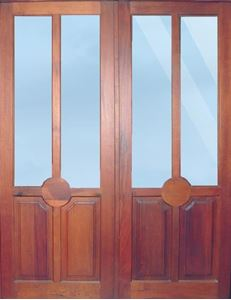 Picture of Pair of French Combo Doors 1613 x 2032