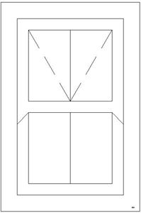 Picture of 600W X 900H Victorian Mock Sash Window