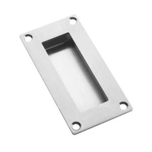 Picture of SS Rectangular Flush Pull QS4419