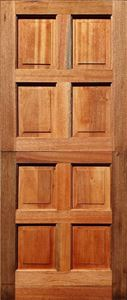 Picture of 8 Panel Solid Meranti Stable 813 X 2032