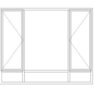 Picture of ND512/G Full Pane 2161W X 1765H