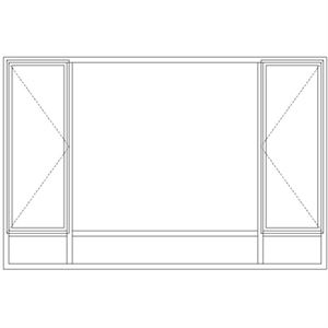 Picture of ND5129/G Full Pane 2690W X 1765H
