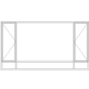Picture of ND512108/G Full Pane 3219W X 1765H