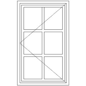Picture of NC1 Small Pane 574W X 940H