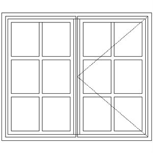 Picture of NC2 Small Pane 1103W X 940H