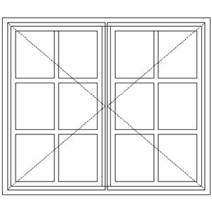 Picture of NC7 Small Pane 1103W X 940H