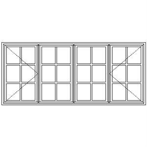Picture of NC22 Small Pane 2161W X 940H