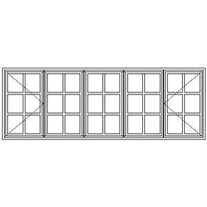 Picture of NC229 Small Pane 2690W X 940H