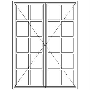 Picture of ND57 Small Pane 1103W X 1490H