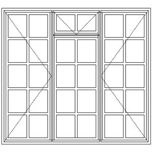 Picture of ND54F Small Pane 1632W X 1490H