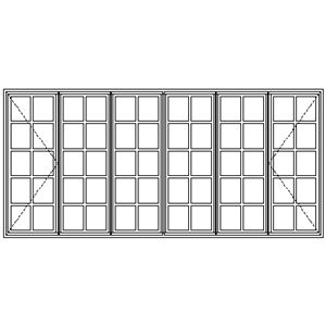 Picture of ND522108 Small Pane 3219W X 1490