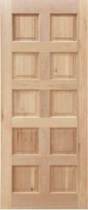 Picture of 10 Panel Door With 42 Mm Panels