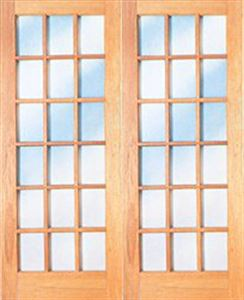 Picture of Pair 1613 Small Pane French Doors
