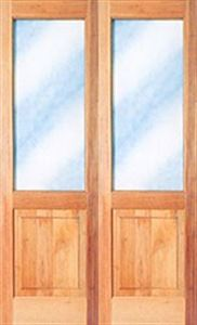 Picture of Full Pane Top Solid Bottom French Door 1210 X 2032