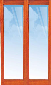 Picture of Pair 1210 X 2032 Full Pane French Doors