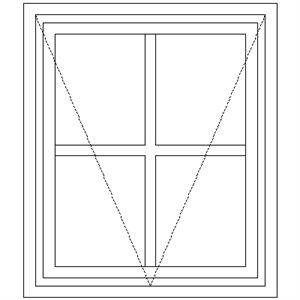 Picture of BE1 Small Pane 574W x 665H