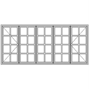 Picture of BD229 Small Pane 2690W X 1215H