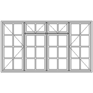 Picture of BD22F Small Pane 2161W X 1215H