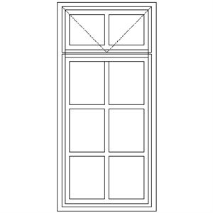 Picture of BD5F Small Pane 574W X 1215H