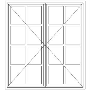 Picture of BD7 Small Pane 1103W X 1215H